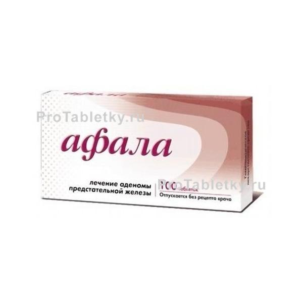 Таблетки афала от простатита как принимать