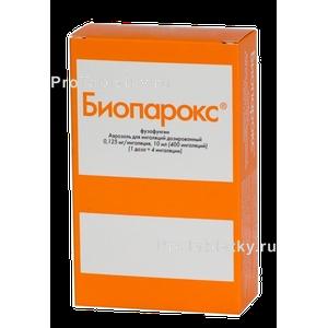Биопарокс антибиотик или нет