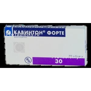 Кавинтон Форте - 7 отзывов, цена от 225 руб., инструкция по применению