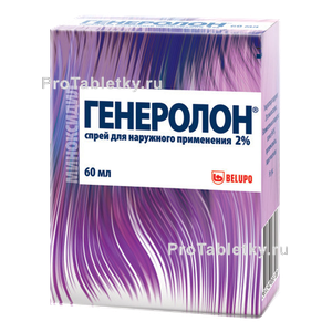 Генеролон спрей для волос - состав, цена, отзывы
