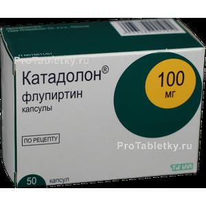 Катадолон инструкция по применению препарата в таблетках