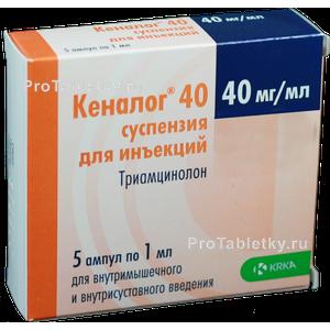 Кеналог 40: инструкция, отзывы, аналоги, цена в аптеках