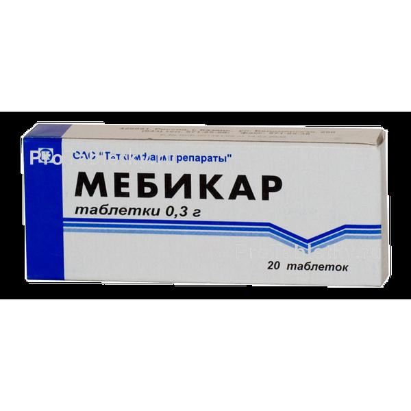 Мебикар - 4 отзыва, цена от 132 руб., инструкция по применению